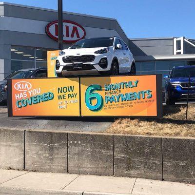 auto dealer mag sign